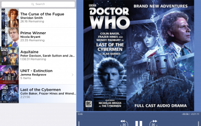 Big Finish audioplayer app